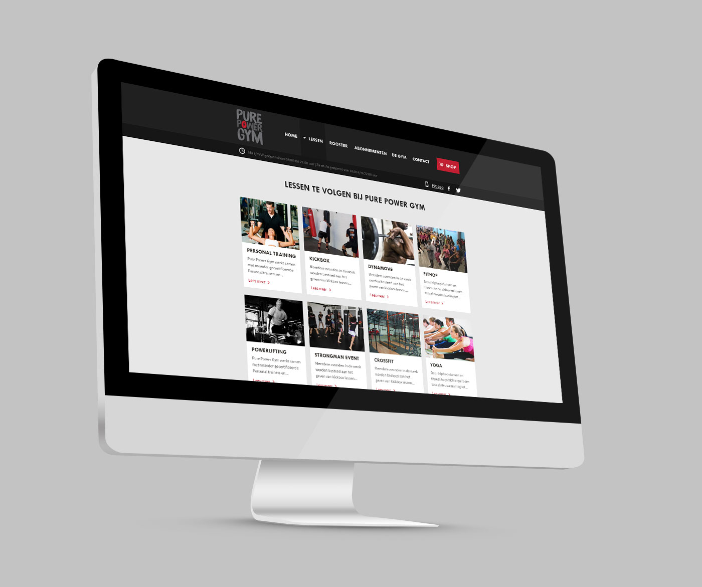 Webdesign pure-power-gym