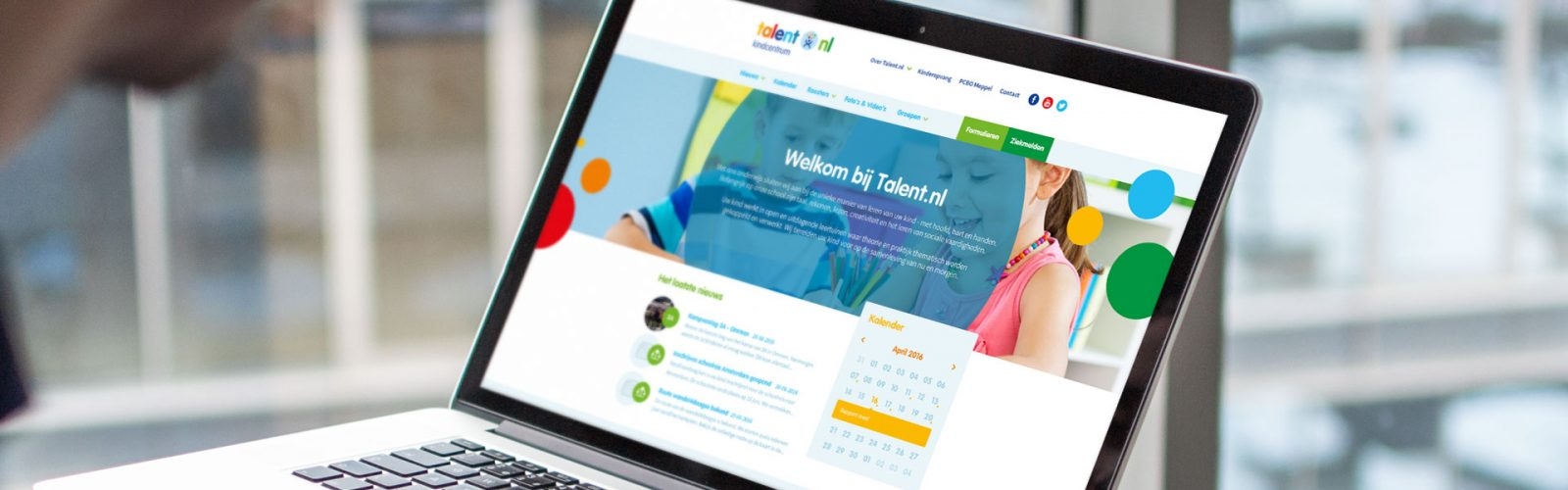 Webdesign kindcentrum-talent