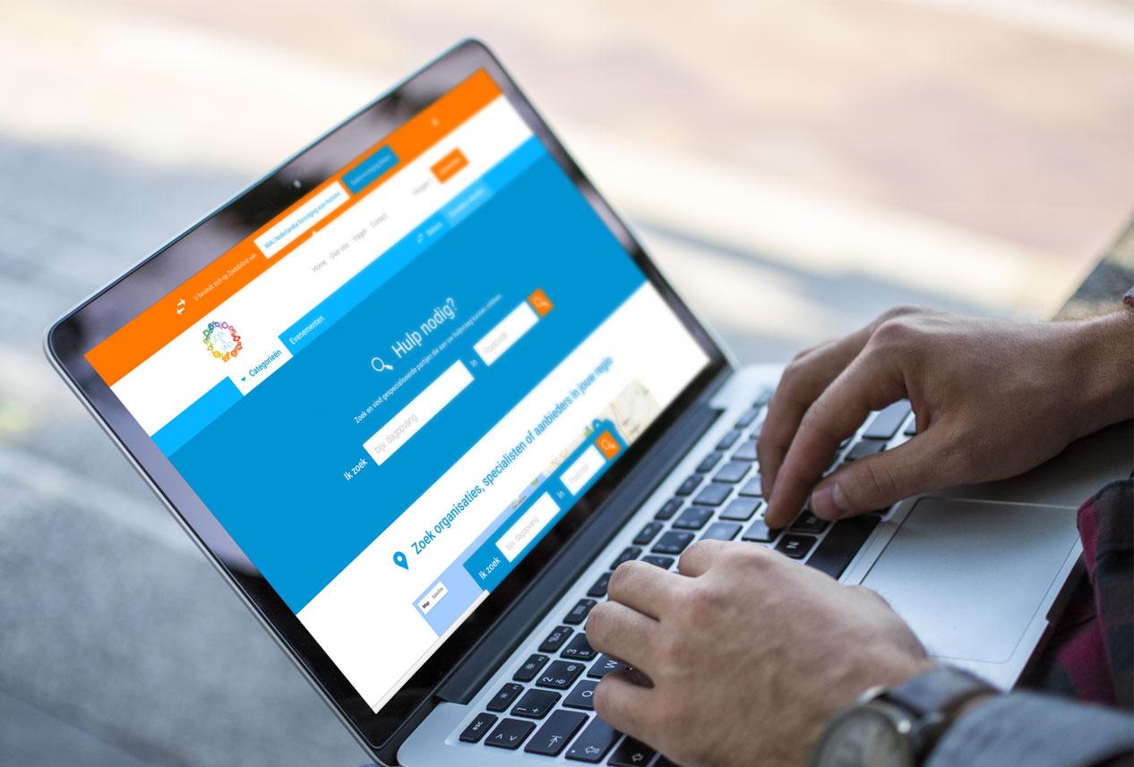 Webdesign zoek-vind