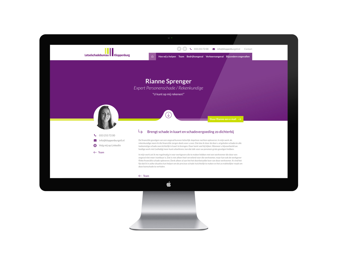 Webdesign kloppenburg-nli